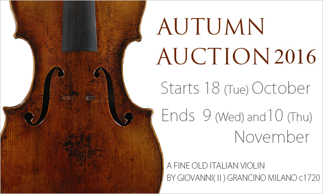 Autumn Auction 2016