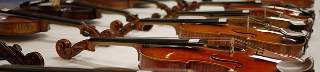 Auction for stringed instruments and bows Consignment